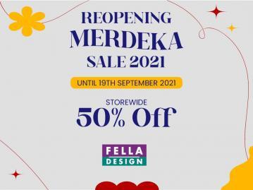 Reopening Merdeka Sale 2021!