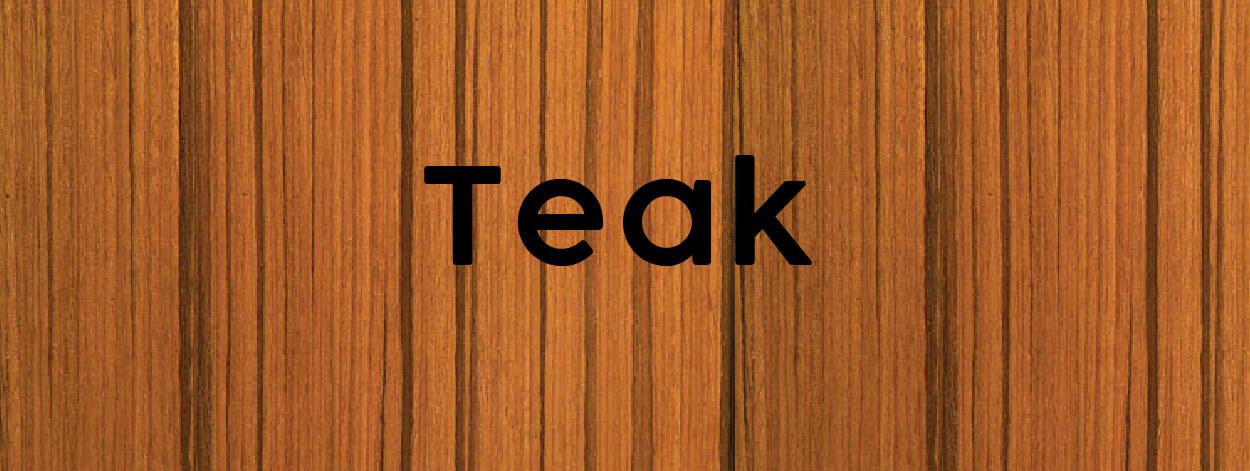 teak texture