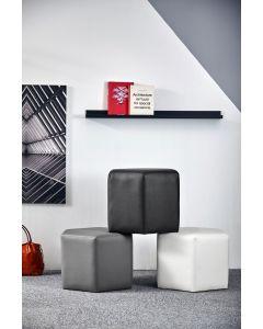 Day Hexagon Footstool - Charcoal