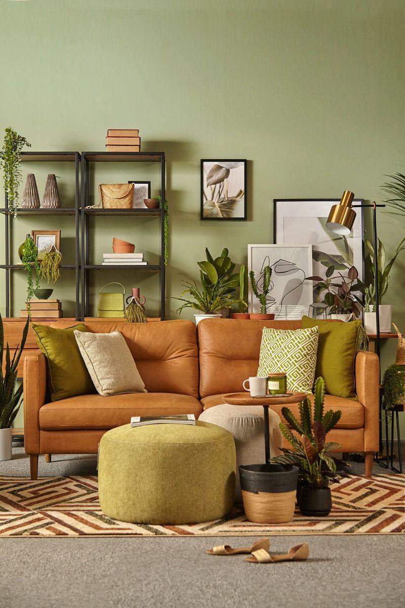 Pizol Full Leather Sofa