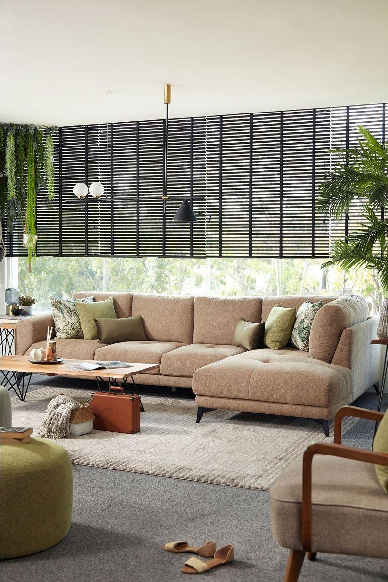 Yohan L-Shape Sofa